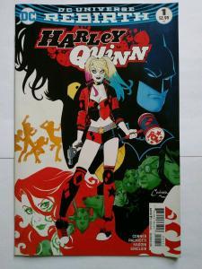 Harley Quinn# 1 & Suicide Squad #1 Rebirth Special Edition Lot DC Comics