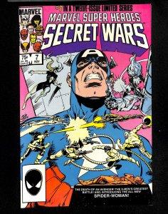 Marvel Super-Heroes Secret Wars #7 1st New Spider-Woman!