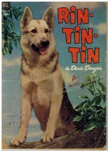 RIN TIN TIN (1952-1963 DELL) F.C.434 FR-G COMICS BOOK