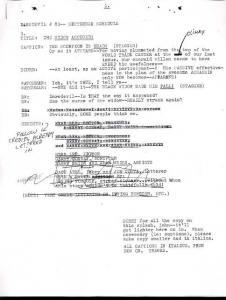 DAREDEVIL #83-LETTERER SCRIPT-MARVEL SILVER AGE--RARE