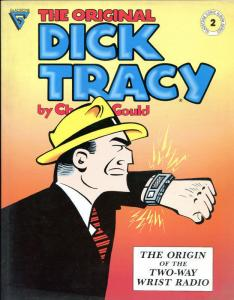 The Original DICK TRACY #2, TPB, 1st, VF, 1990, Chester Gould, Gladstone