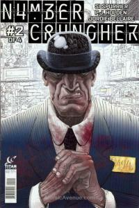 Numbercruncher #2 VF/NM; Titan | save on shipping - details inside