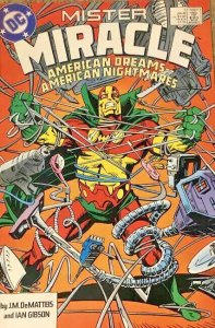 DC Comics! Mister Miracle! Issue 1!