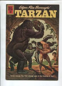 TARZAN #129 1962-DELL-EDGAR RICE BURROUGHS-VF