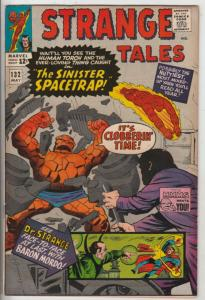 Strange Tales #132 (May-65) VF/NM- High-Grade Human Torch, the Thing, Doctor ...