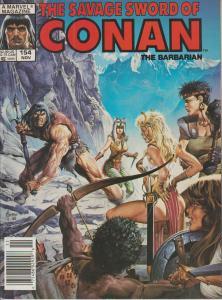 The Savage Sword of Conan the Barbarian #154 - Magazine