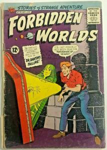 FORBIDDEN WORLDS#119 GD 1964 ACG SILVER AGE COMICS