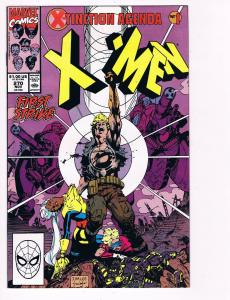 Uncanny X-Men # 270 Marvel Comic Books Hi-Res Scans Modern Age Awesome Issue! S2