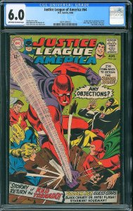 Justice League of America #64 (DC, 1968) - Key 1st Red Tornado