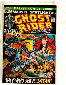 Marvel Spotlight # 7 VF Comic Book Feat. Ghost Rider Early Appearance HOT RS1