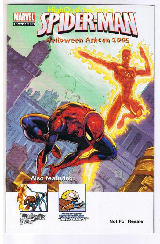 SPIDER-MAN Halloween ashcan,Promo,Human Torch, 2005, NM, more SM in store