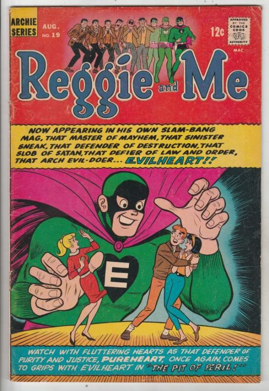 Reggie and Me #19 (Aug-66) VG/FN- Mid-Grade Archie, Betty, Veronica, Reggie, ...