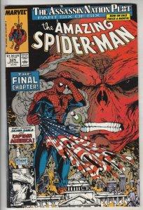 Amazing Spider-Man #325 (Nov-89) NM- High-Grade Spider-Man