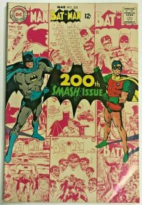 BATMAN#200 FN/VF 1967 DC SILVER AGE COMICS