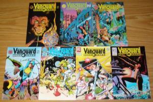 Vanguard Illustrated #1-7 VF/NM complete series 1ST MR. MONSTER dave stevens set