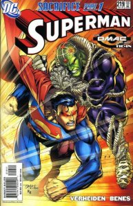 Superman #219 (ungraded) 2nd series stock image ID#B-4
