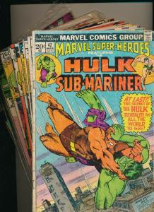 Marvel LOT OF 13 INCREDIBLE HULK #42,218,227,228.257,278,286,&More! G/VG (PJ114)