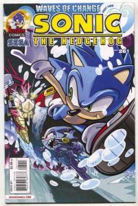 Sonic The Hedgehog #261 2014- Archie Comics Sega F/VF