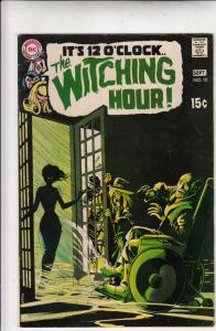 It's 12 O'Clock.. the Witching Hour #10 (Sep-70) VF+ High-Grade