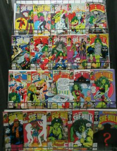 She-Hulk (Marvel 1989-93) #3-56 Lot of 20Diff John Byrne's Humorous Adventures!