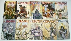 Brath #1-14 VF/NM complete series + prequel - chuck dixon - crossgen barbarian
