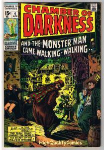 CHAMBER of DARKNESS #4, Barry Smith, Conan ish, 1969, VF