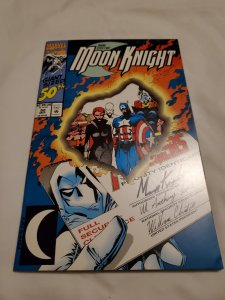 Marc Spector Moon Knight 50 Near Mint-  Cover by James Fry