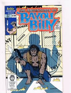 The Adventures Of Bayou Billy # 2 VF/NM Archie Adventure Series Comic Books! SW9