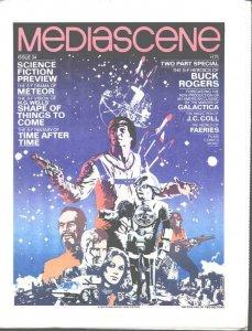 STERANKO'S Mediascene#34(1978)BuckRogers+more