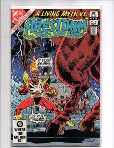DC Comics Fury of Firestorm #6 Pat Broderick