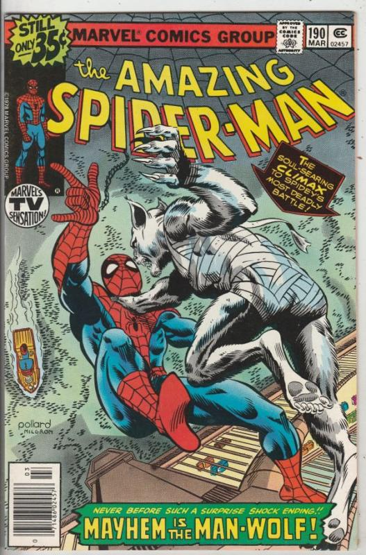 Amazing Spider-Man #190 (Mar-79) NM/NM- High-Grade Spider-Man