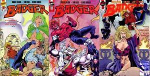 BADGER 52-54  Behind The Black Door  TIM VIGIL COMICS BOOK