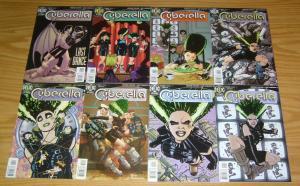 Cyberella #1-12 VF/NM complete series - howard chaykin - dc comics helix set