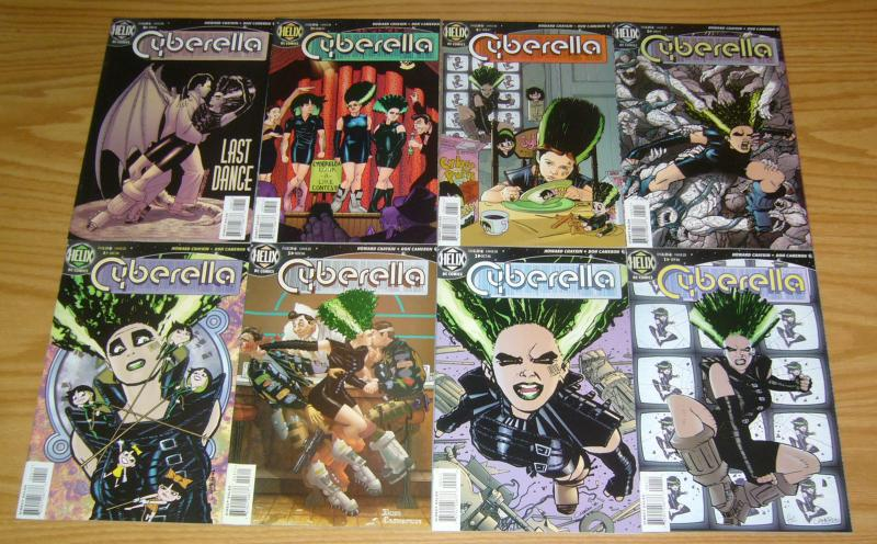 Cyberella #1-12 VF/NM complete series - howard chaykin - dc comics helix set