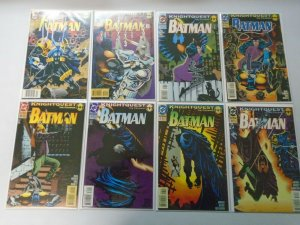 Batman comic lot 37 different from #501-548 8.0 VF (1993-97)