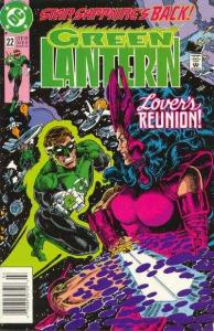Green Lantern (1990 series) #22, VF (Stock photo)