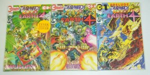 Earth 4: Deathwatch 2000 #1-3 VF/NM complete series in bags w/cards - neal adams