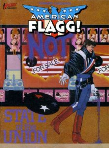 American Flagg! State of the Union TPB #1, VF- (Stock photo)