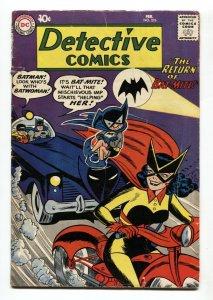 DETECTIVE COMICS #276 comic book BATMAN BATWOMAN MOTORCYCLE-1960