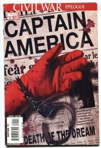 Captain America #25-comic book-Death of Captain America-Winter Soldier