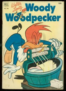 WOODY WOODPECKER FOUR COLOR #390 1952-BRUTAL COVER G/VG