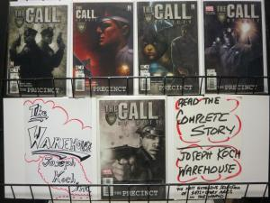 CALL OF DUTY THE PRECINCT (2002) 1-5 Complete series!