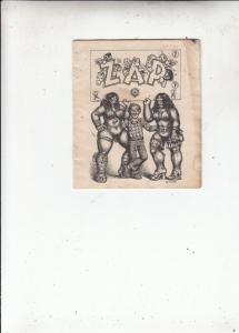 Zap Mini #7 (Jan-74) GD Affordable-Grade R.Crumb