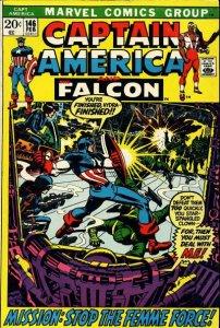 Captain America #146 (ungraded) stock photo / SMC