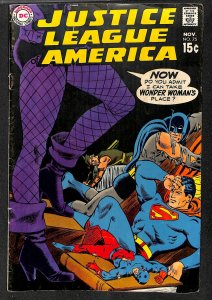 Justice League Of America #75 FN- 5.5 DC Comics