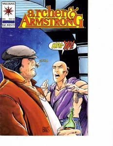 Lot Of 2 Valiant Comics Archer&Armstrong #12 and Impact Comics Jaguar #1  JB4