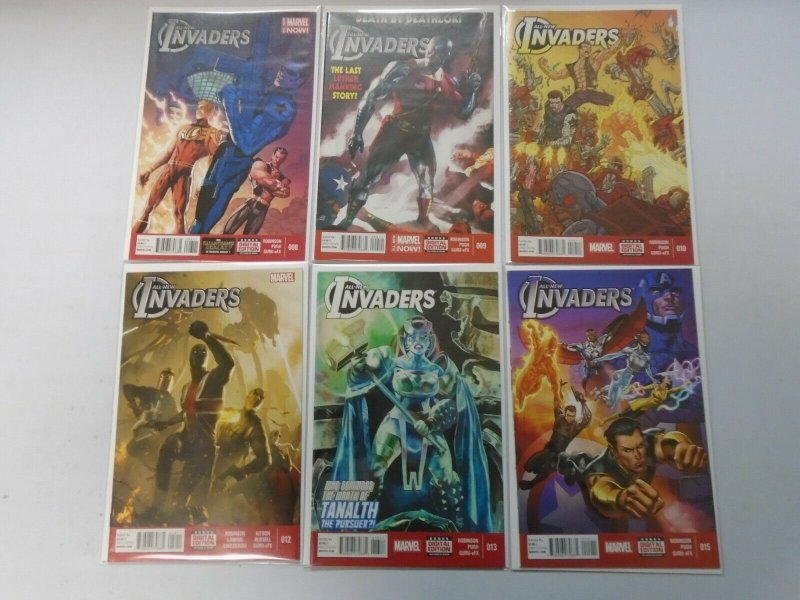 All New Invaders lot 12 different from #1-15 8.0 VF (2013-15)