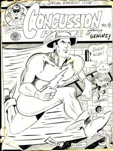 Concussion #4-1967-Mark Evanier-Flash-EC Sci-fi Comics-monster mags-FR