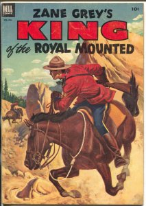 King of The Royal Mounted #10 1953-Dell-Zane Grey-RCMP-VG/FN