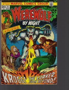 Werewolf by Night #8 (Marvel, 1973) FN